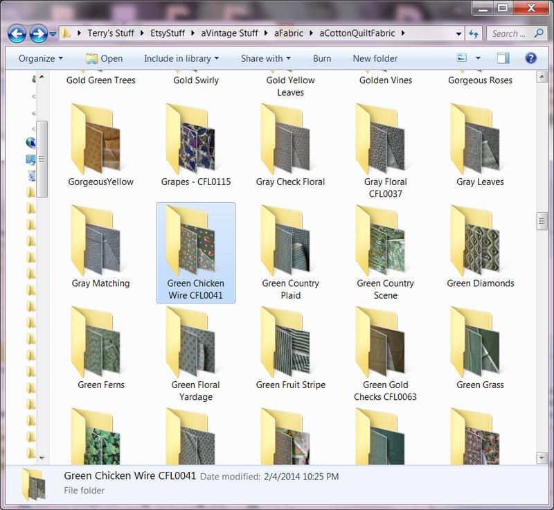 Folder names